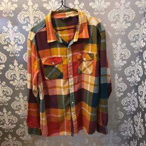 Plaid Gramicci Button Down Shirt